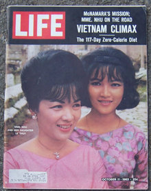 Life Magazine October 11, 1963 MME NHU and her Daughter