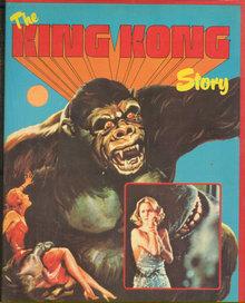 King Kong Story by Jeremy Pascall 1977 Illustrated DJ