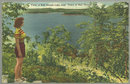 Postcard of Bull Shoals Lake Near Bull Shoals, Ark