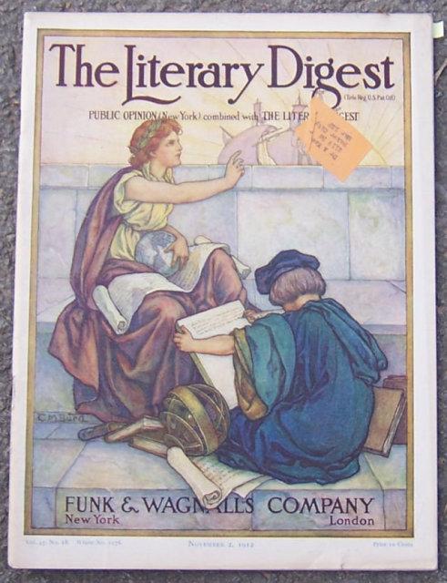 Literary Digest Magazine November 2, 1912 Aviator