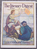 Literary Digest Magazine November 2, 1912 Aviator
