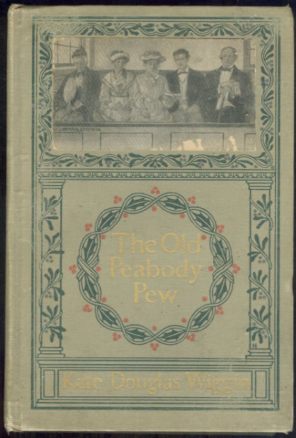 Old Peabody Pew Signed by Kate Douglas Wiggin 1907