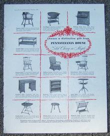 Pennsylvania House Furniture 1953 Magazine Ad