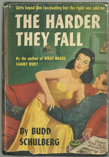 Harder They Fall Signed by Budd Schulberg 1947 1st ed