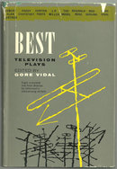 Best Television Plays Edited by Gore Vidal 1956 with DJ