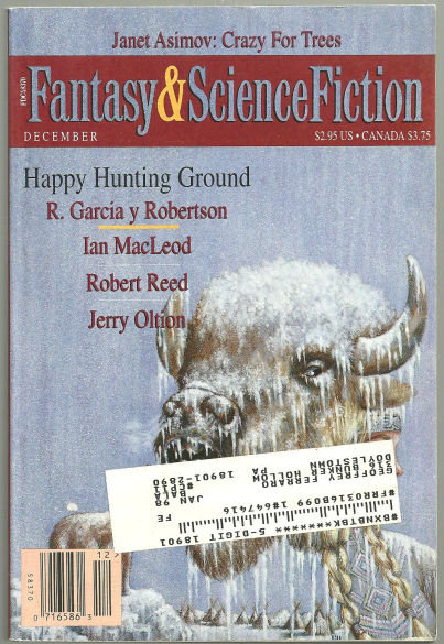 Magazine of Fantasy and Science Fiction December 1995
