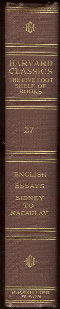 English Essays From Sir Philip Sidney to Macaulay #27