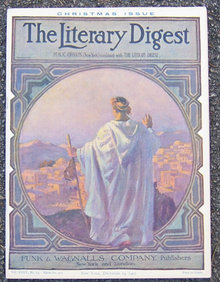 Literary Digest Magazine December 14, 1907 Christmas