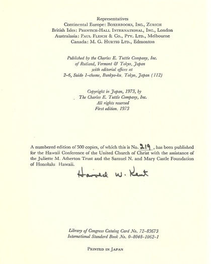 Dr. Hyde and Mr. Stevenson Signed by Harold Kent 1973
