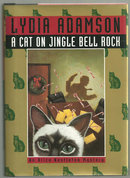 Cat on Jingle Bell Rock by Lydia Adamson 1997 1st ed DJ