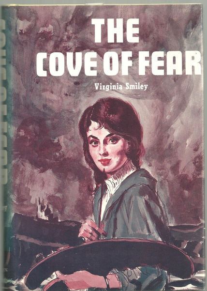Cove of Fear by Virginia Smiley 1974 1st edition DJ