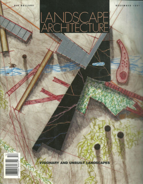 Landscape Architecture Magazine December 1991