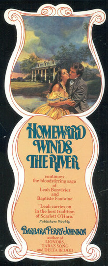 Bookmark Advertising Homeward Winds the River Romance