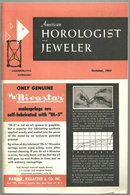 American Horologist and Jeweler Magazine October 1959
