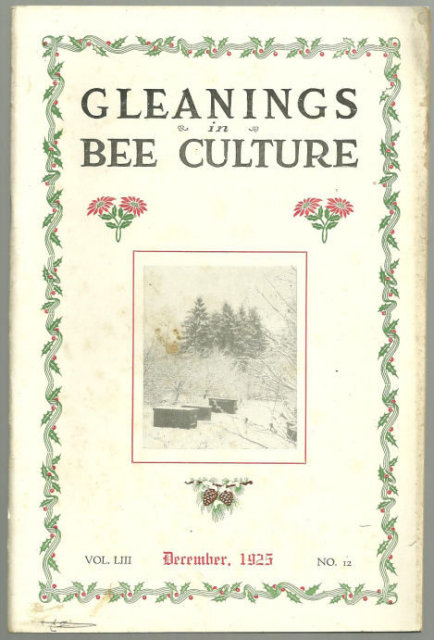 Gleanings in Bee Culture December 1925 Jamaica