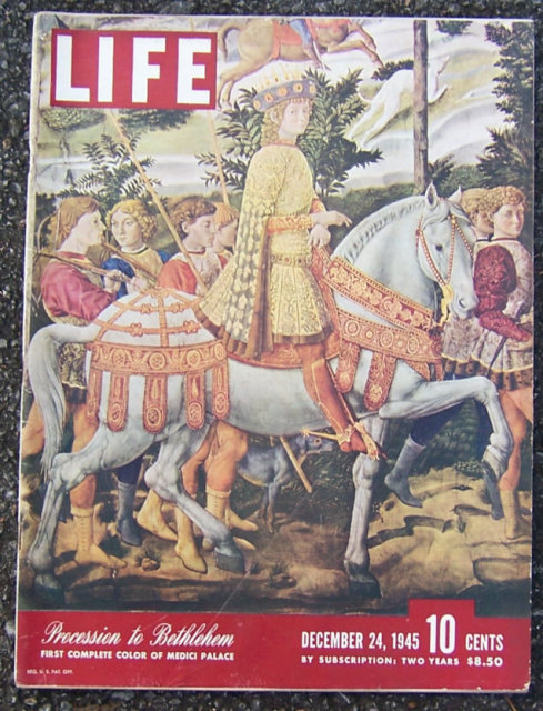 Life Magazine December 24, 1945 Bethlethem on Cover