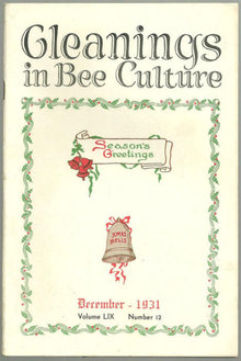 Gleanings in Bee Culture December 1931 England