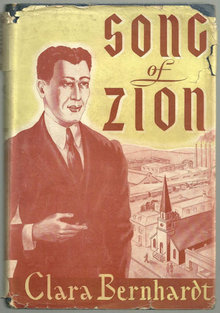 Song of Zion by Clara Bernhardt 1944 Christian Fiction