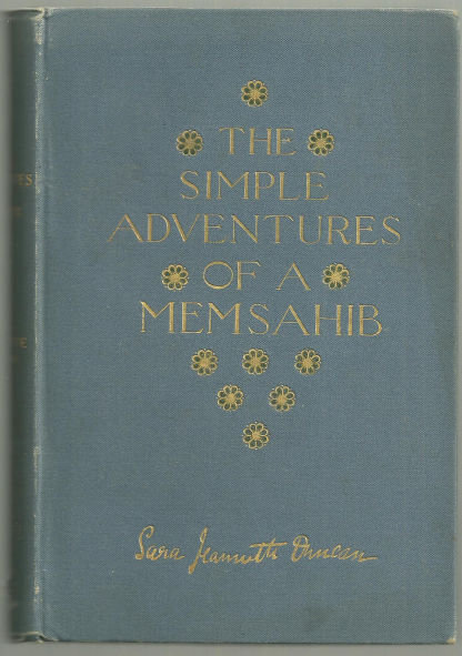 Simple Adventures of a Memsahib by Sara Duncan 1893 1st edition