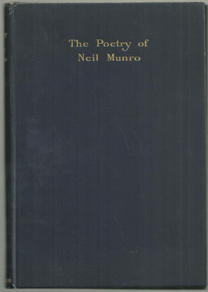 Poetry of Neil Munro by Neil Munro 1931 Poetry