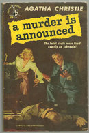 Murder is Announced by Agatha Christie 1951 Paperback