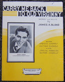 Carry Me Back to Old Virginny Sung by Buddy Fisher 1935