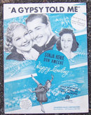 Gypsy Told Me From Happy Landing Sonja Henie 1938 Music