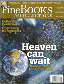 Fine Book and Collections January/February 2007