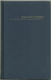 Halley's Comet A Bibliography Edited by Ruth Freitag
