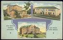 Postcard of New Mexico Normal University Las Vegas 1945