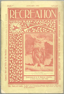 Recreation Magazine January 1901 Pike's Expeditions