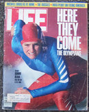 Life Magazine February 1988 Bonnie Blair on the Cover