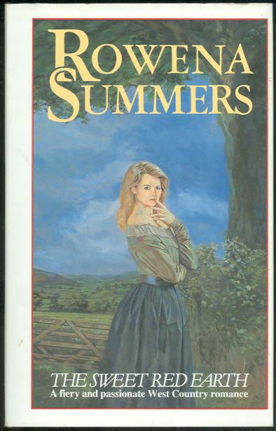Sweet Red Earth by Rowena Summers 1987 1st ed with DJ