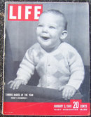 Life Magazine January 3, 1949  Famous Babies Cover