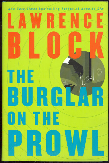Burglar on the Prowl Signed by Lawrence Block 1st ed DJ