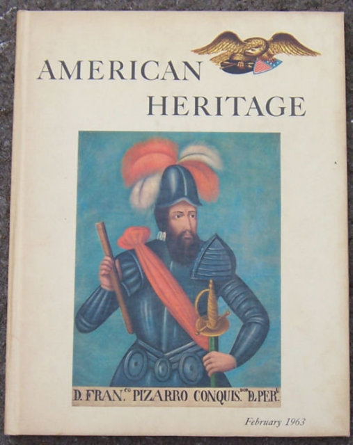 American Heritage Magazine February 1963 America on Ice