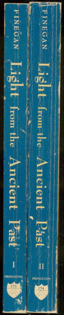 Light From the Ancient Past by Jack Finegan 2 vols 1969