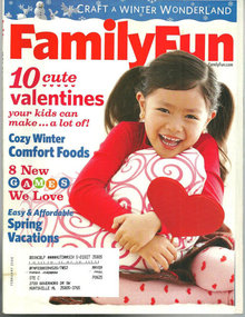 Family Fun Magazine February 2008 Friendly Valentines