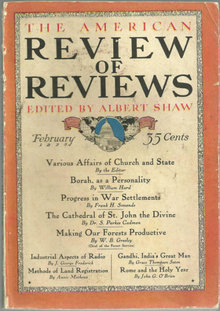 American Review of Reviews February 1925 Forest Fires