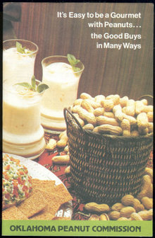It's Easy to be a Gourmet with Oklahoma Peanuts 1963