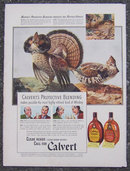 1941 Calvert Blended Whiskey Magazine Advertisement