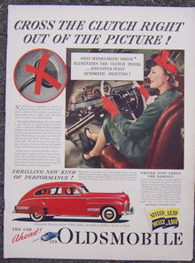 1941 Oldsmobile Automobile Life Magazine Advertisement