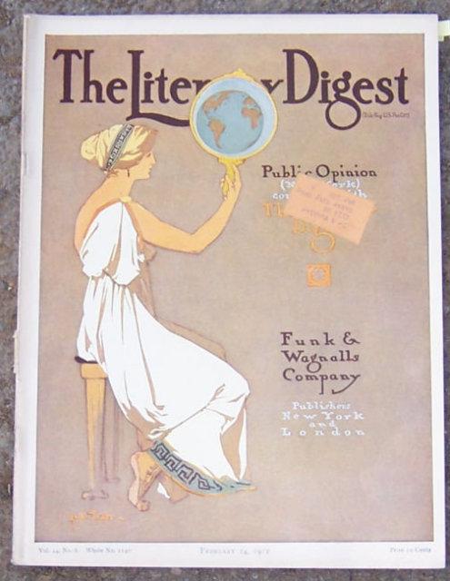 Literary Digest February 24, 1912 A Circular Barn