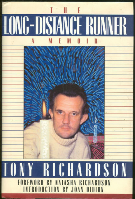 Long Distance Runner A Memoir by Tony Richardson 1st DJ