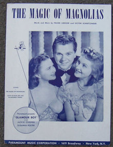 Magic of Magnolias From Glamour Boy Jackie Cooper 1941