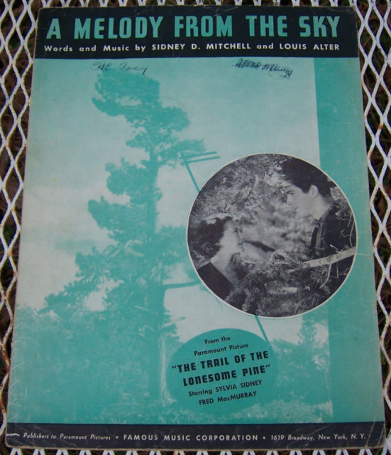 Melody From the Sky From Trail of the Lonesome Pine