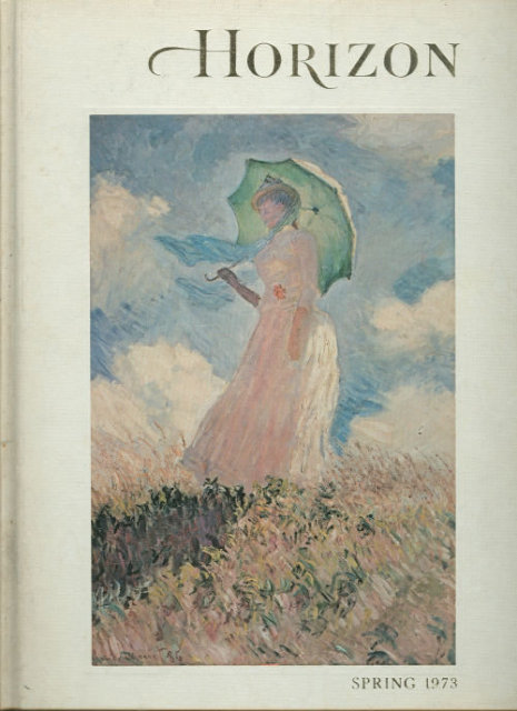 Horizon Magazine of the Arts Spring 1973 Monet's Garden