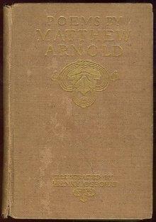 Poems of Matthew Arnold by Matthew Arnold 1900 Illus