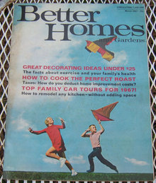 Better Homes and Gardens Magazine March 1967 Recipes