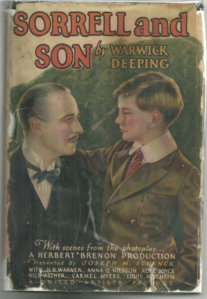 Sorrell and Son by Warwick Deeping 1927 Photoplay DJ